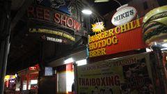 Chiang Mai улица красных фонарей