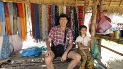Девочка из племени длинношеих, Таиланд
