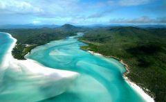 дикие пляжи на острове Гамильтон, Австралия