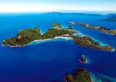 Остров Гамильтон с высоты птичьего полета, Австралия