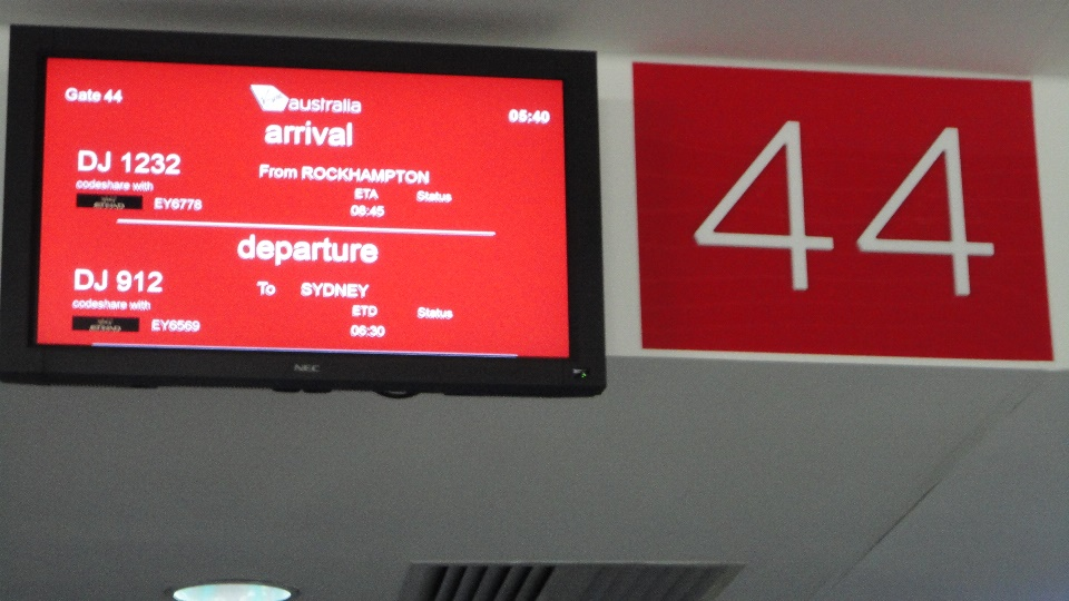 Сидней Departure