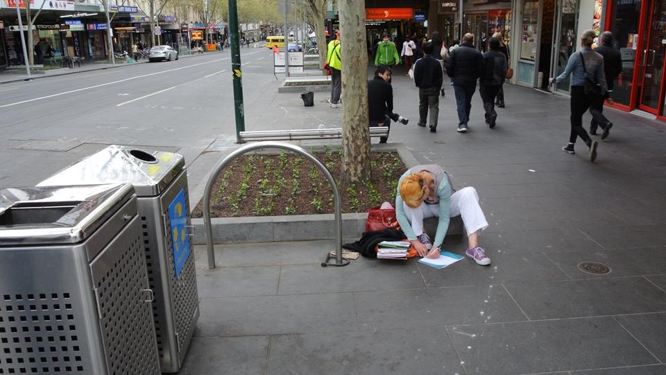 Мельбурн студентка