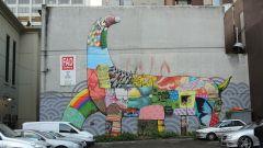 Мельбурн граффити