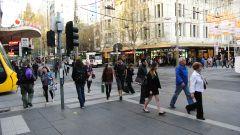 Мельбурн перекресток