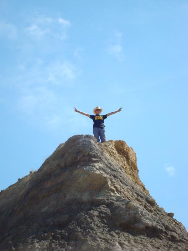 Мой друг Дима покоряет вершину