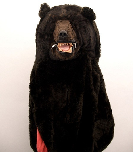 Медведь - спальный мешок