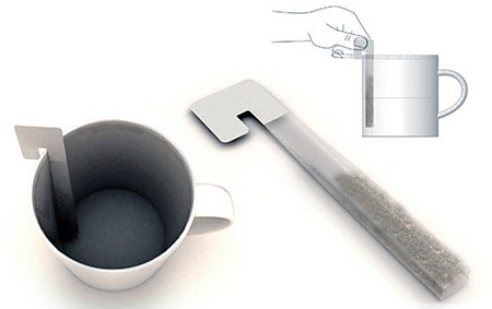 Креативность в упаковке чая в пакетики