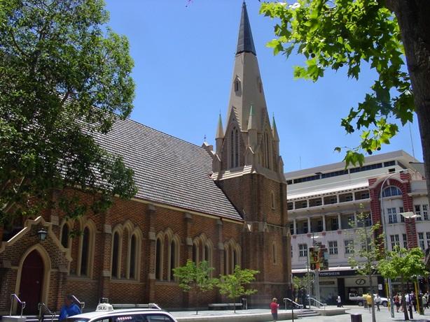 Perth, Australia, cathedral