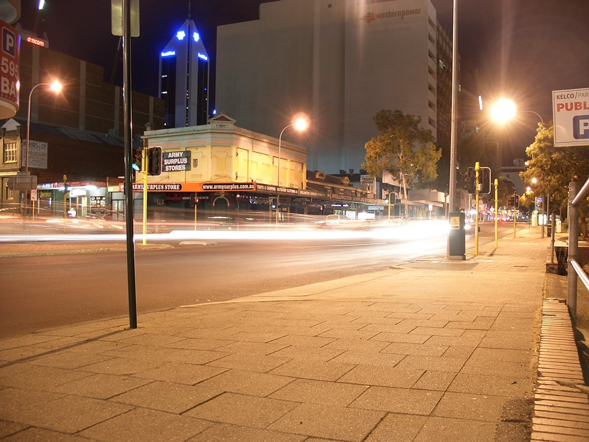 Perth, Australia, By night