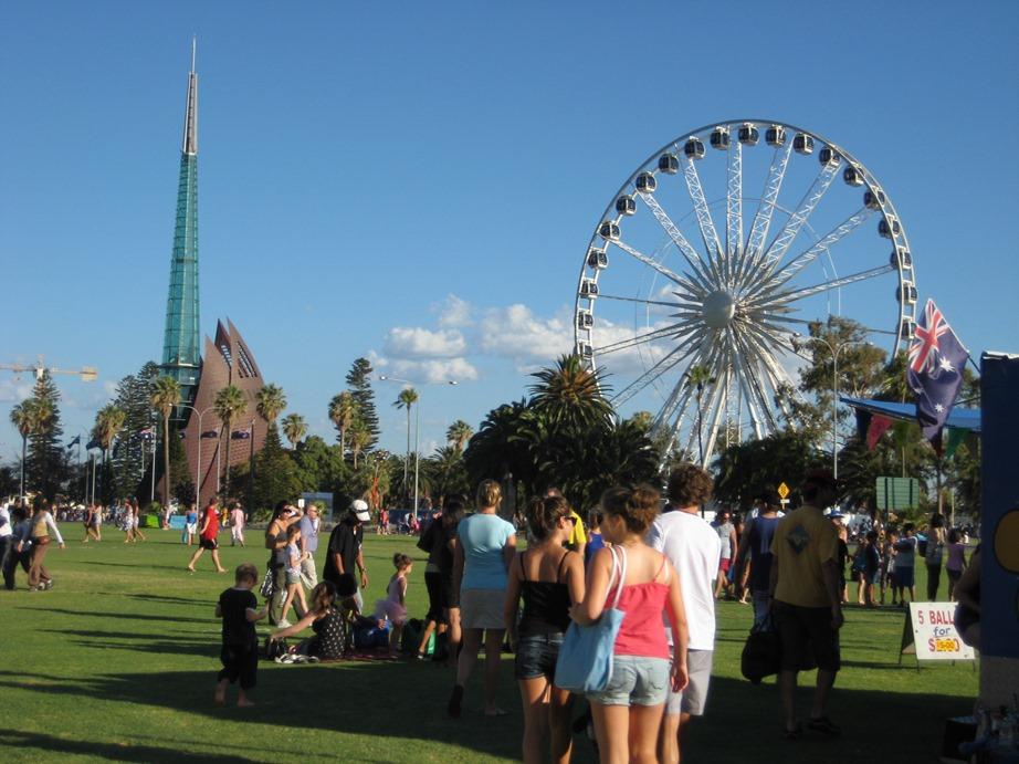 Perth, Australia, observation wheel