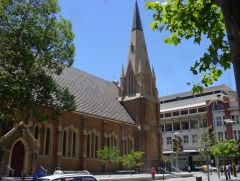 Perth, Australia, cathedral