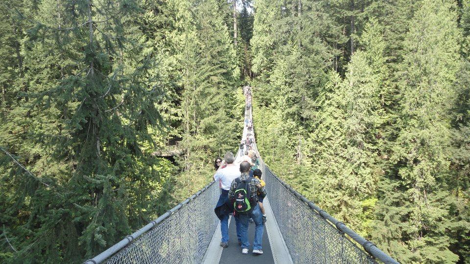 Vancouver, British Columbia, Canada, город Suspention Bridge 3.jpg