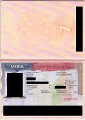 sample visa cruise