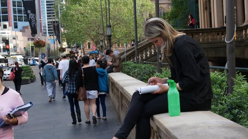 Студентка Сиднея