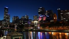 Melbourne By night 2