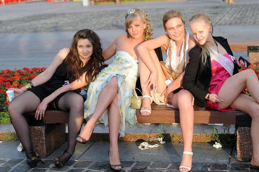 Фото ню русских выпускниц