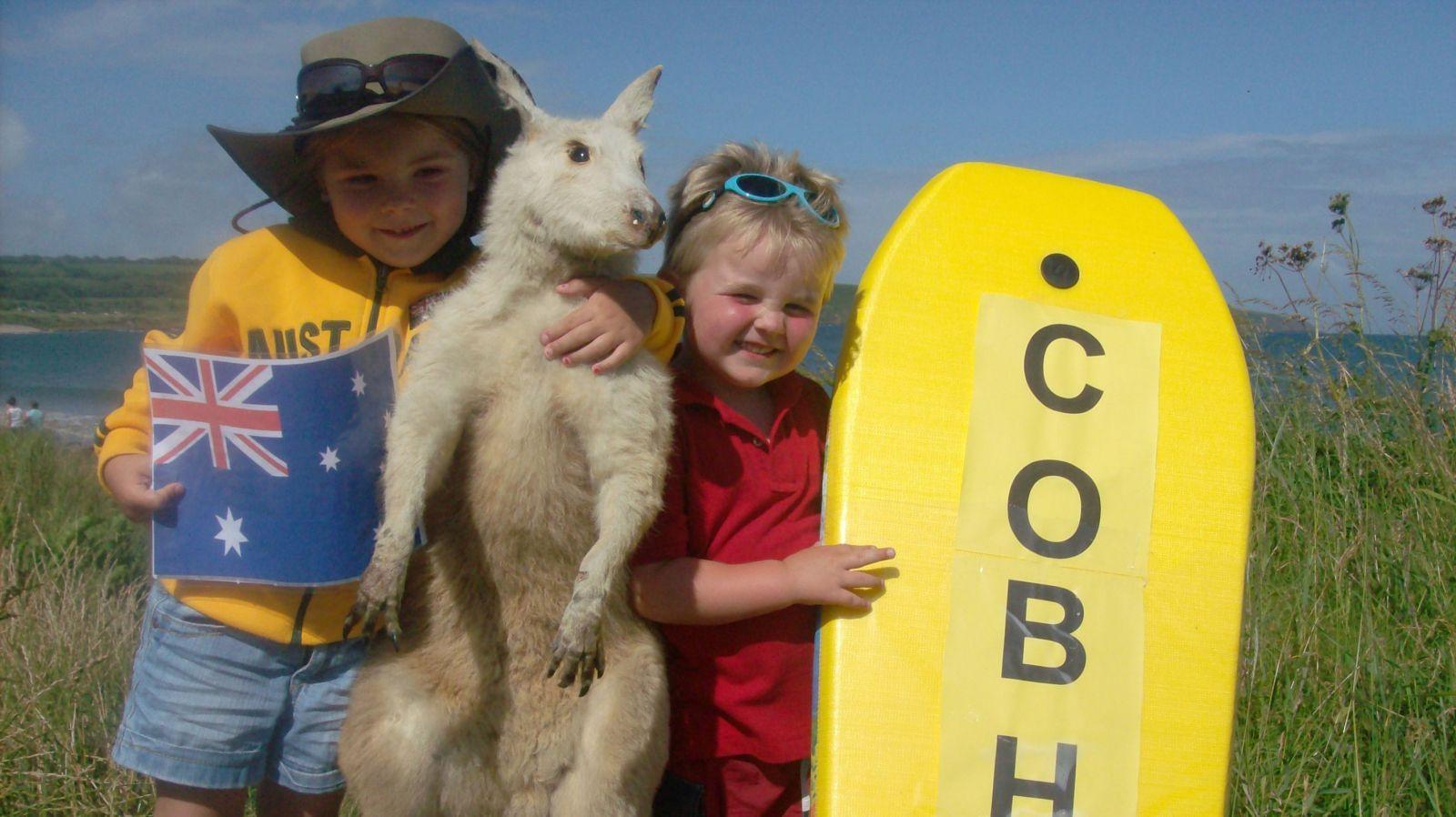 Австралийские дети