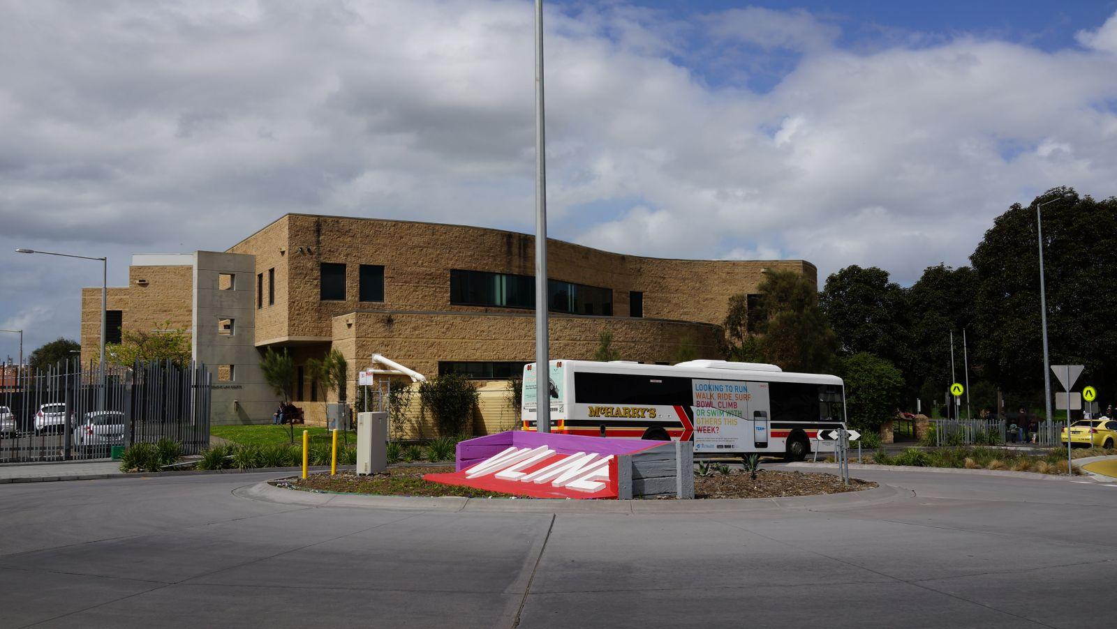 Джелонг, Австралия, автобусный терминал