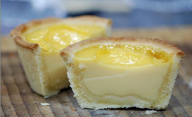Пирожки с яичным кремом Дань Та