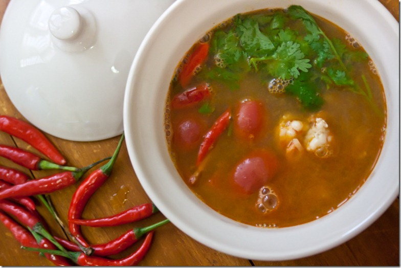 recept Sup Tom Yan S foto