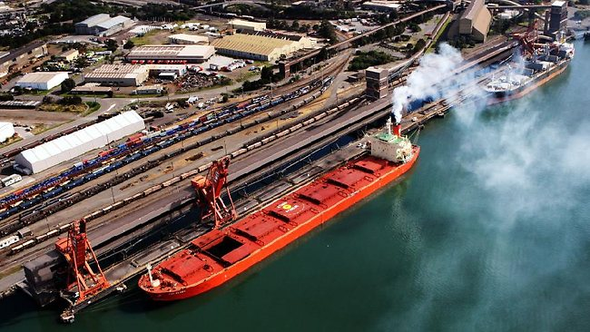 newcastle coal exports