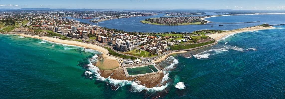 Город Newcastle, New South Wales, Australia