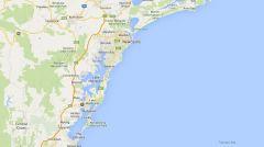 Карта 2 Newcastle, New South Wales, Australia