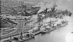 1915 BHP Steelworks, Newcastle, New South Wales, Australia