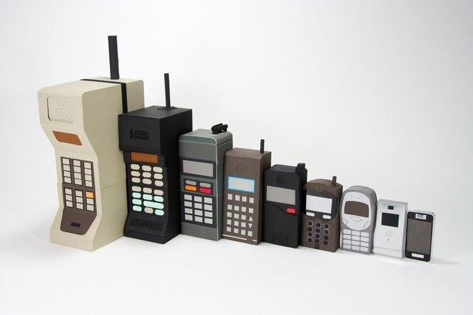 эволюция телефонов