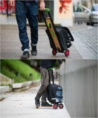 Дорожный рюкзак с самокатом