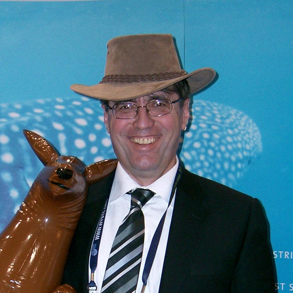 Me, Kangaroo And Melbourne