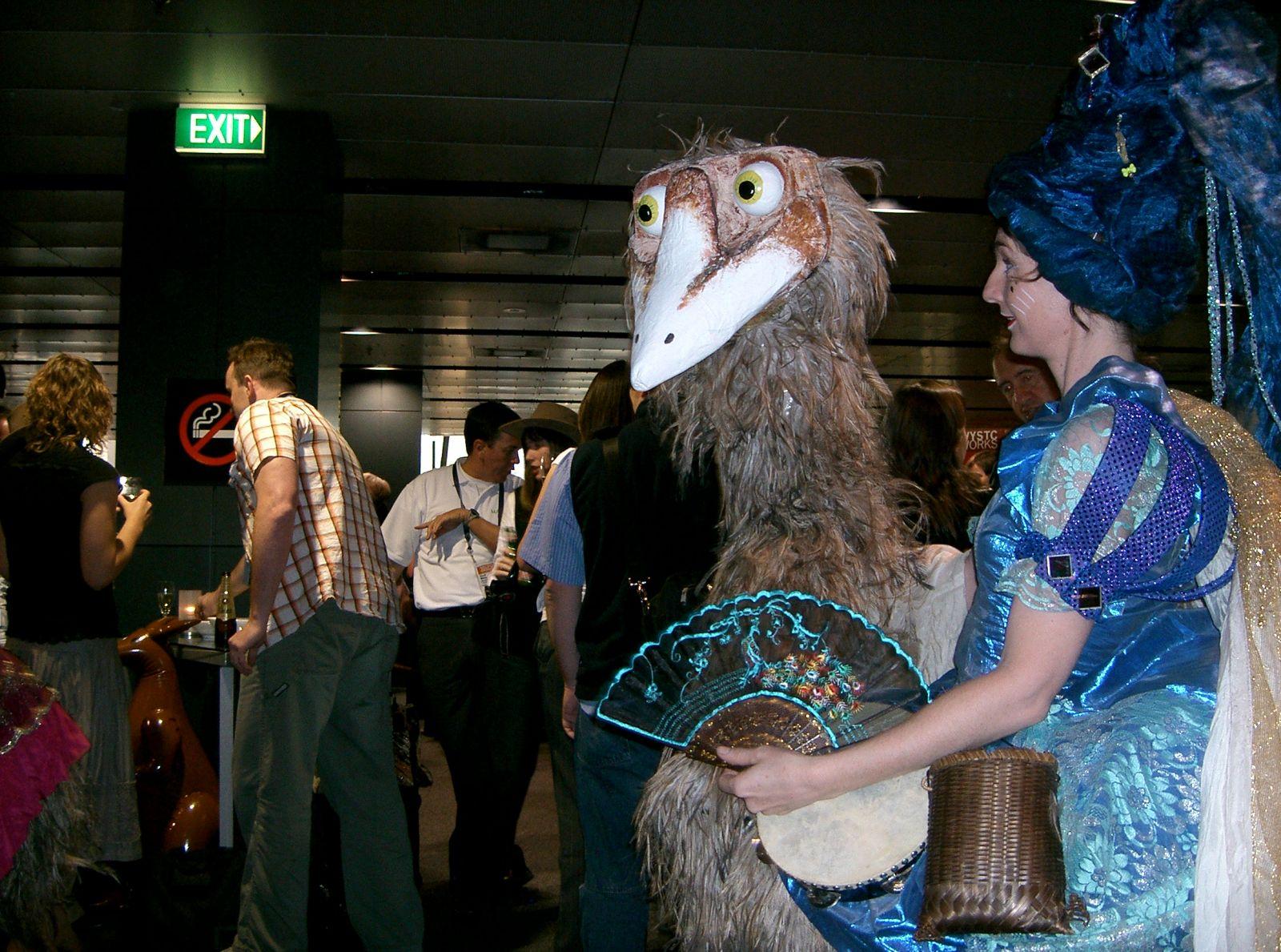Melbourne Australian Ostrich