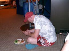 Melbourne Australian Businessman   не хватило места за столом
