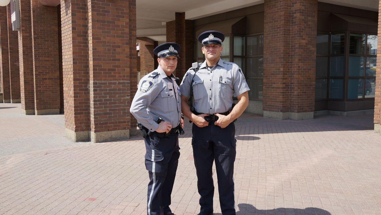 Edmonton policemen