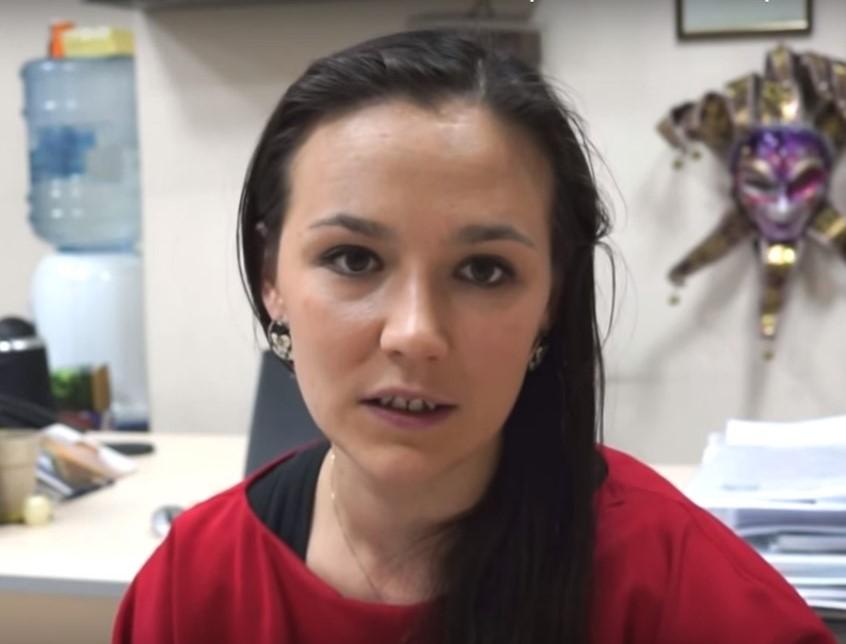 Аня Слепченко,работа в Лондоне в кампании UBS