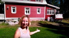 Анна Волкова, типичная финская дача