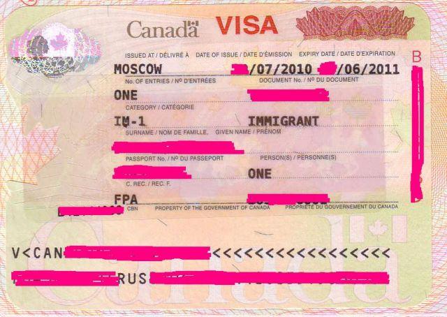 Immigrant Visa Canada