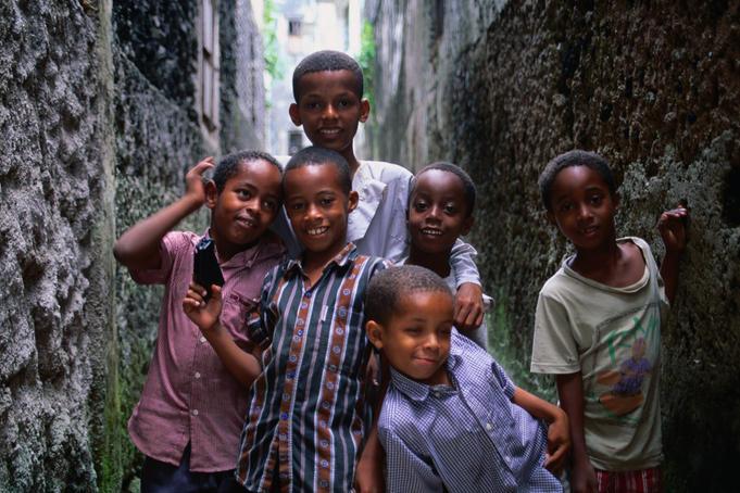 1 сентября, школьники и школьницы Союза Коморских Островов, Африка 7