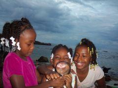 1 сентября, школьники и школьницы Союза Коморских Островов, Африка 5