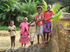 1 сентября, школьники и школьницы Республики Конго, Африка 6