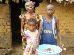 1 сентября, школьники и школьницы Республики Конго, Африка 7
