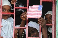 1 сентября, школьники и школьницы Союза Коморских Островов, Африка 4