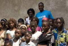 1 сентября, школьники и школьницы Республики Конго, Африка 2
