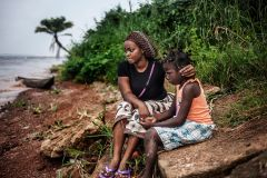 1 сентября, школьники и школьницы Республики Конго, Африка 3