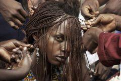 1 сентября, школьники и школьницы Демократической Республики Конго, Африка 9