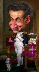 Карикатура Николя Саркози