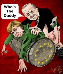 Журнал Vive Charlie опубликовал рисунок, на котором Эрдоган насилует Меркель