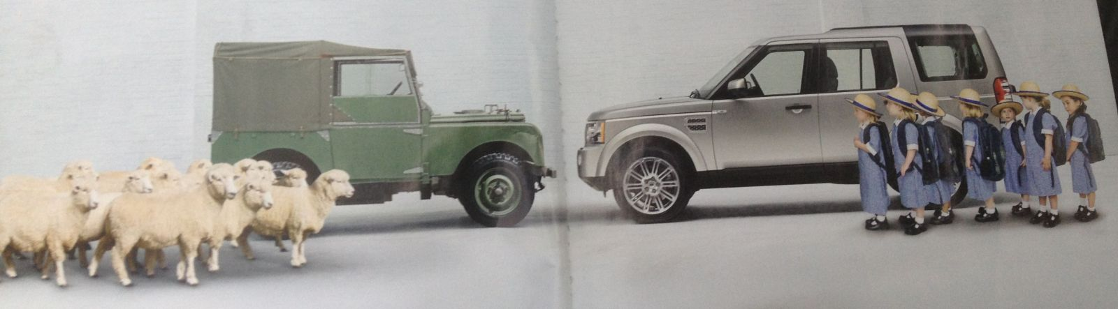 They're In your blood   Land Rover