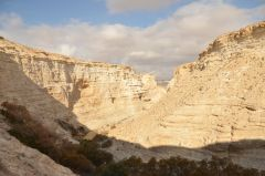New Year's Eve (Sylvester) In Israel, Jerusalem, canyon In Ein Avdat National Park, Новый Год в Израиле, Иерусалим