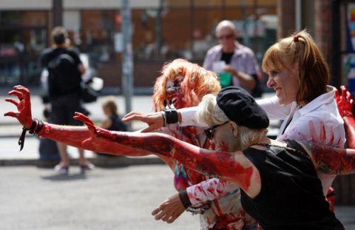 Зомби на автомойке - фестиваль в Торонто